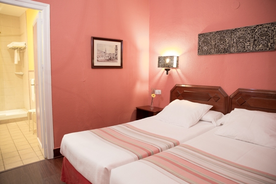 Habitacion Hotel Abanico Sevilla